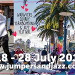 Jumpers and Jazz in July at Warwick